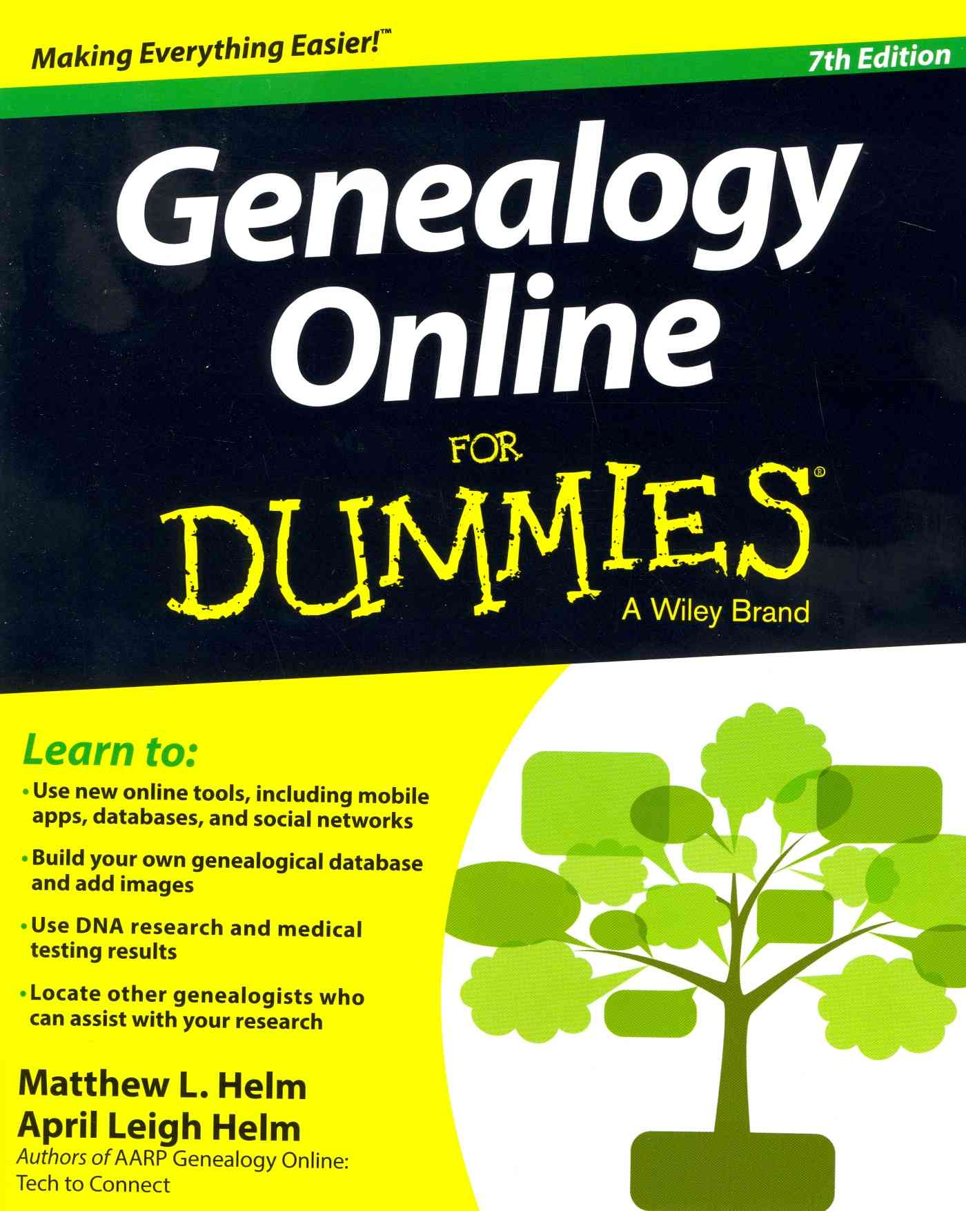 Genealogy Online for Dummies By Helm, April Leigh/ Helm, Matthew L.